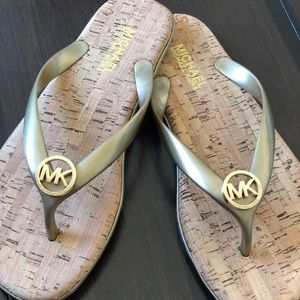 Michael Kors Mk Jet Set Jelly Sandals